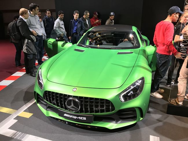 Mercedes AMG at Paris Motor Show 2016 AMG Car Cars Indoors  Luxury Mercedes Mercedes-Benz Speed