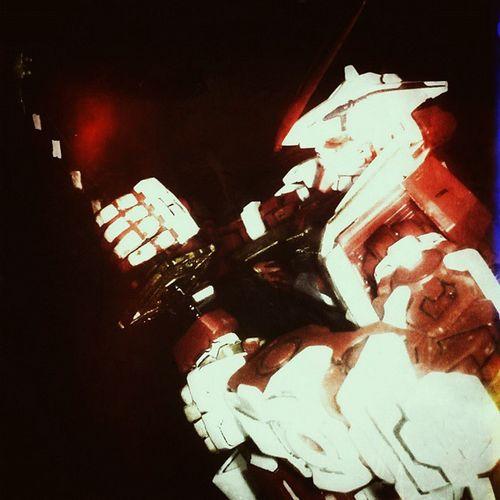 Try to duplicating the ARF pose from @gundamfreestyle Arf Astray AstrayRedFrame MG  Gundam Gunpla Toys BANDAI Mokit Sword