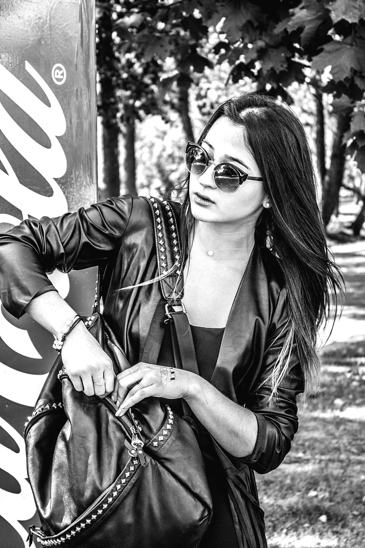 Monochrome Photography Vertical Black And White Outdoors Young Adult Tree One Person Front View Arts Culture And Entertainment Person Young Women People Portrait Day Adult One Woman Only Only Women Real People фото любовь Жизнь Like Gerl Photo Gerls