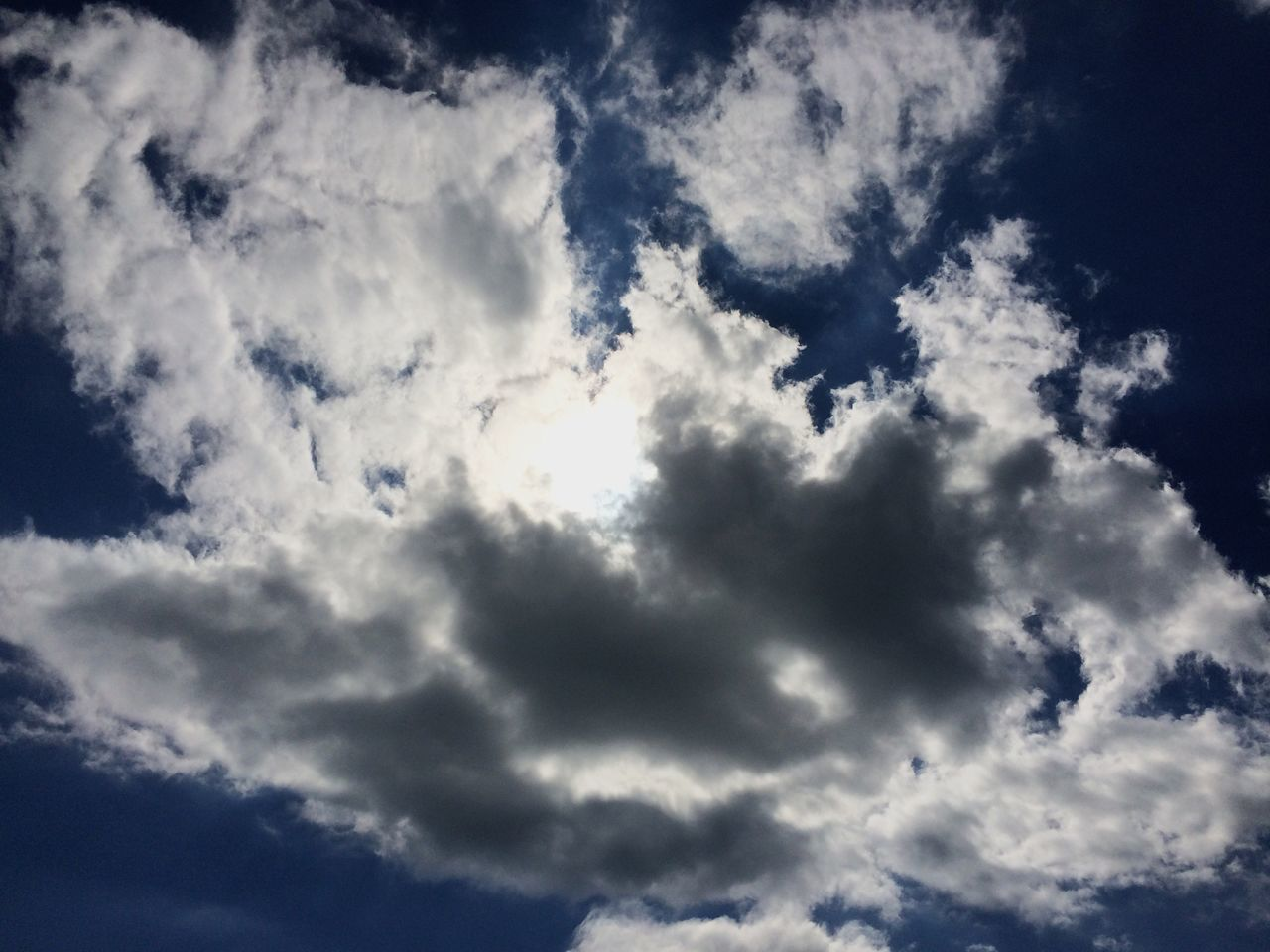 Sky Cloud - Sky Nature Beauty In Nature Low Angle View Backgrounds Sky Only Cloudscape Scenics Majestic Tranquility Full Frame Blue Idyllic No People Outdoors Tranquil Scene Day Awe
