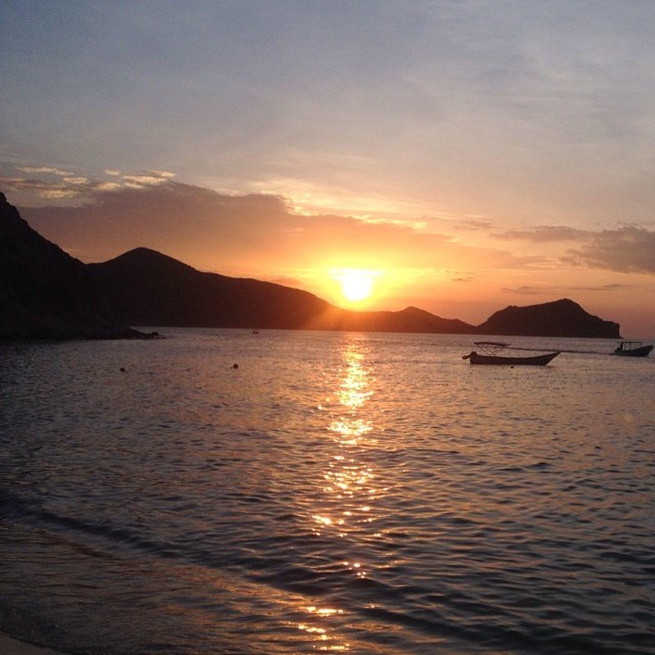 Nature Beach Sea Sunset Beauty Venezuela Cumaná Mochima Found On The Roll Viajandoconcedula The Great Outdoors - 2016 EyeEm Awards