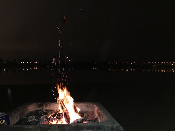 No filter from the other weekend Fire DSLR IPhoneography Nightphotography Make It Yourself Enjoying Life