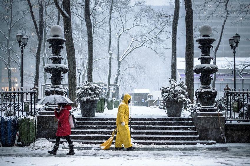 A early morning walk in the Snowstorm Bliss Fujifilm_xseries Manhattan Nature Newyork Newyorkcity Snow Snowstorm Streetphotography The Street Photographer - 2017 EyeEm Awards