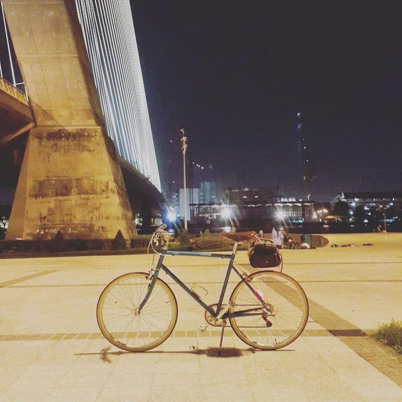 Bicycle City Cityscape Night Nightlife Nightphotography Tokyobike Tokyobikethailand