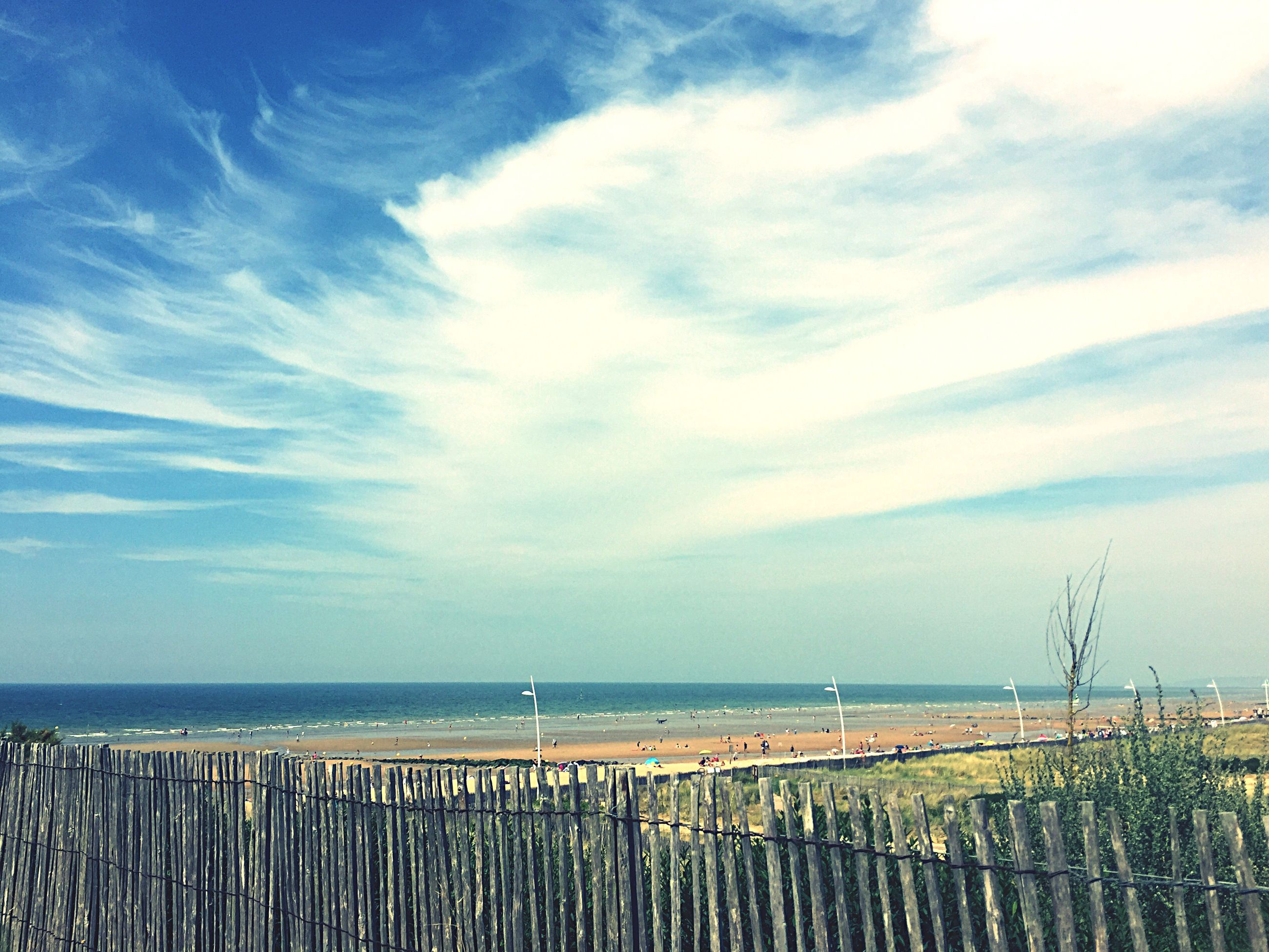 sea, horizon over water, water, sky, scenics, nature, tranquility, beauty in nature, tranquil scene, outdoors, day, no people, cloud - sky, beach, wooden post