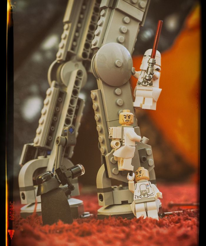 LEGO Legophotography Lego Minifigures Darthvader ATAT Star Wars