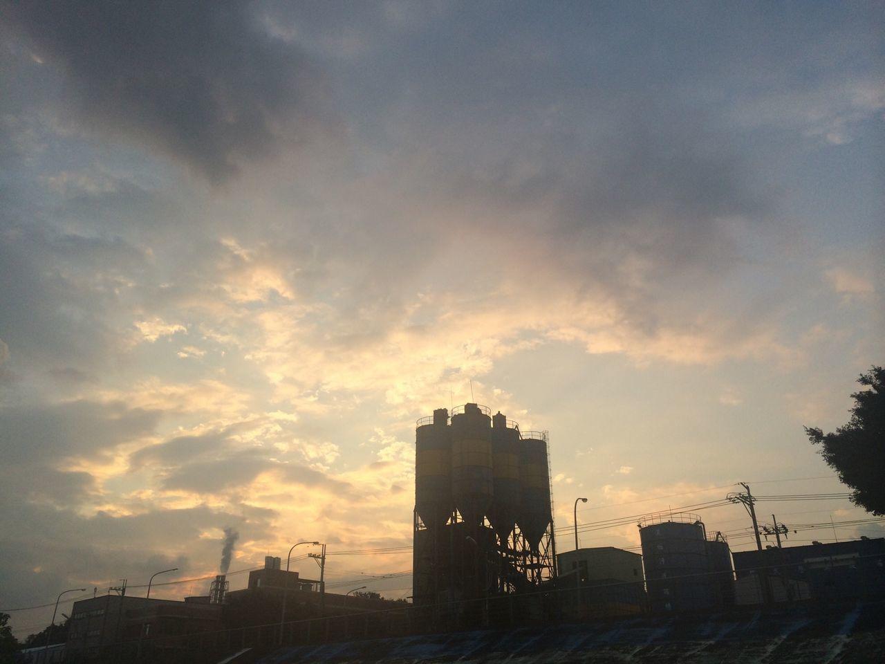 樹林 Shulin Sunset Sunset Silhouettes
