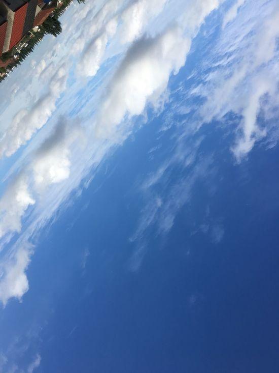 层叠的云层