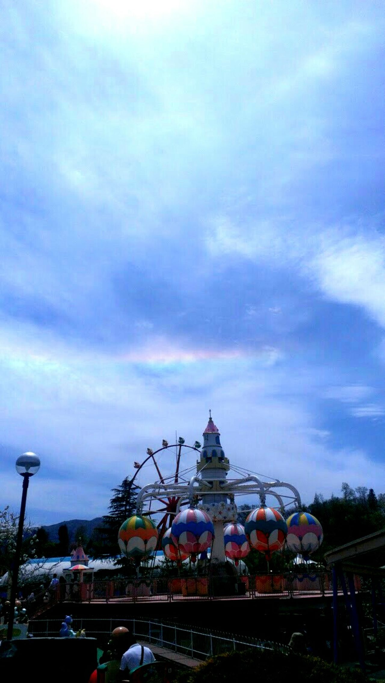 環水平アーク 虹 Rainbow 環水平アーク 蒜山高原センター Happy Circumhorizn Arc 遊園地 Amusement Parks Amusementpark Rainbows