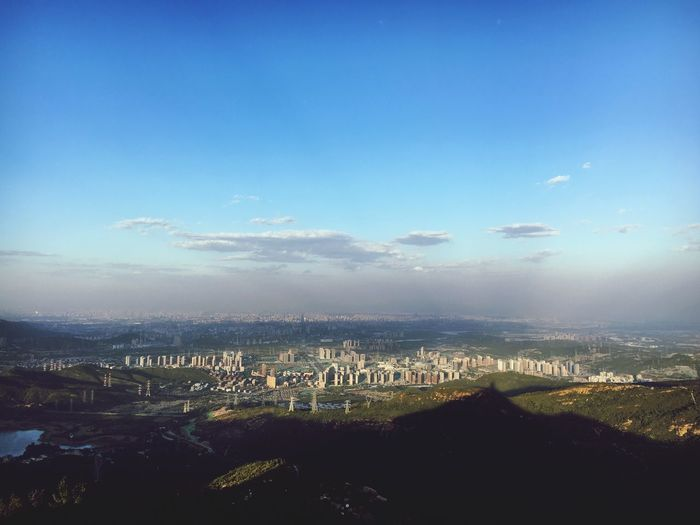 The Great Outdoors - 2017 EyeEm Awards Cityscape Sky High Angle View Outdoors Mountain Beijing