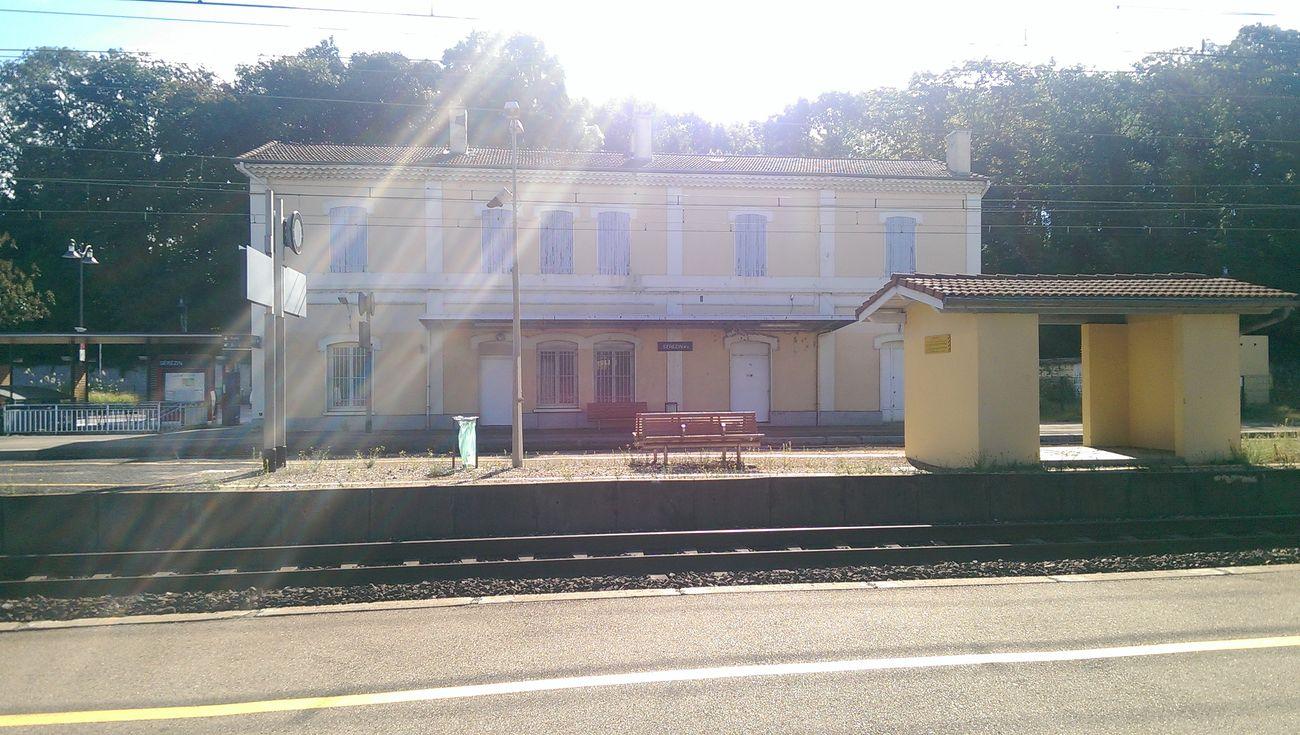 Sun Train Station No Filter