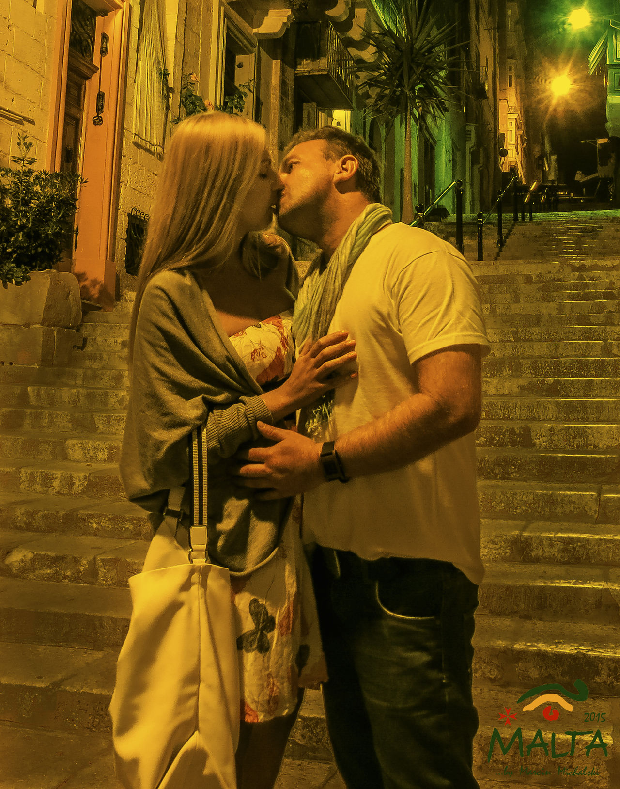 summer 2016 Lovers Malta Man Woman Old Town People Preeety Red Phone Boxes Topaz Hotel