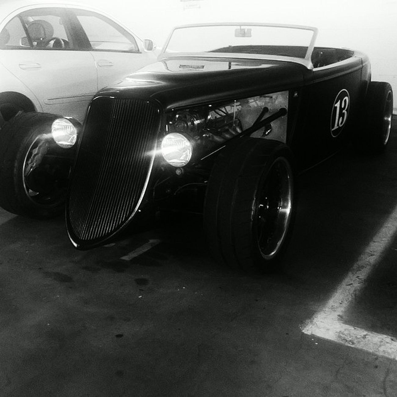 Look what I found in the employee parking lot!!! Yrflifestyle Westla Vintagecars Cars Beautiful Roadster Love Classiccars Convertible Santamonica UCLA  Millionaire Billionaire