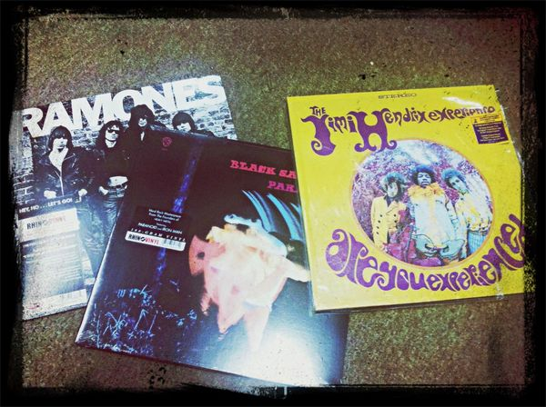 the ramones jimmy hendrix Black Sabbath algo para la tarde xD Vinilos Vinyl