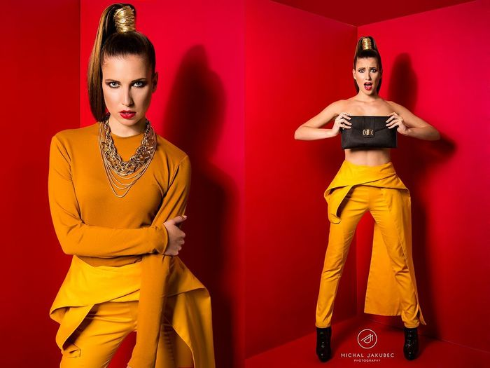 Fashion Photoshoot My Design Trousers Fashion Collection