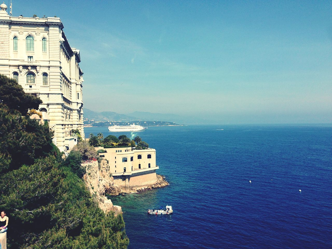 Beautiful stock photos of monaco, Architecture, Beauty In Nature, Blue, Building