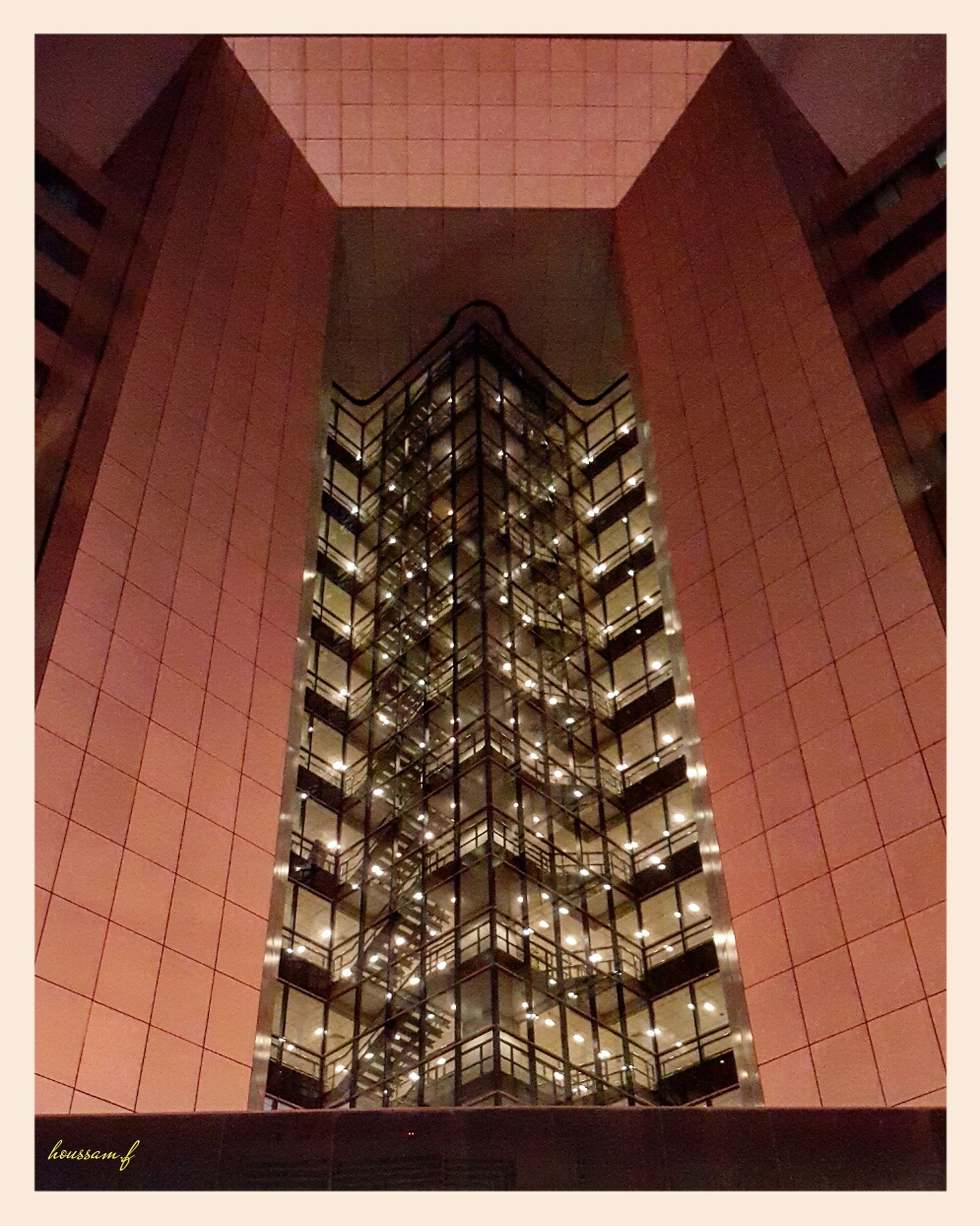 illuminated, dusk, low angle view, architecture, no people, city, built structure, skyscraper, building exterior, night, outdoors, sky