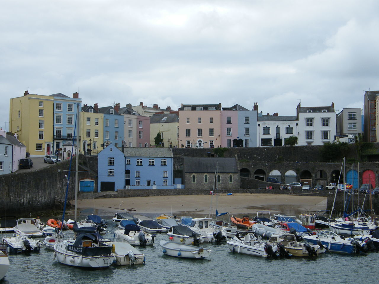 Architecture Building Exterior Built Structure Cityscape Day Large Group Of People Moored Nature Nautical Vessel Outdoors Pembrokeshire Pembrokeshire Coast Pembrokeshire Coastal Path Residential Building Seaside Seaside Town Sky Tenby Tenby Harbour Transportation Travel Destinations Water