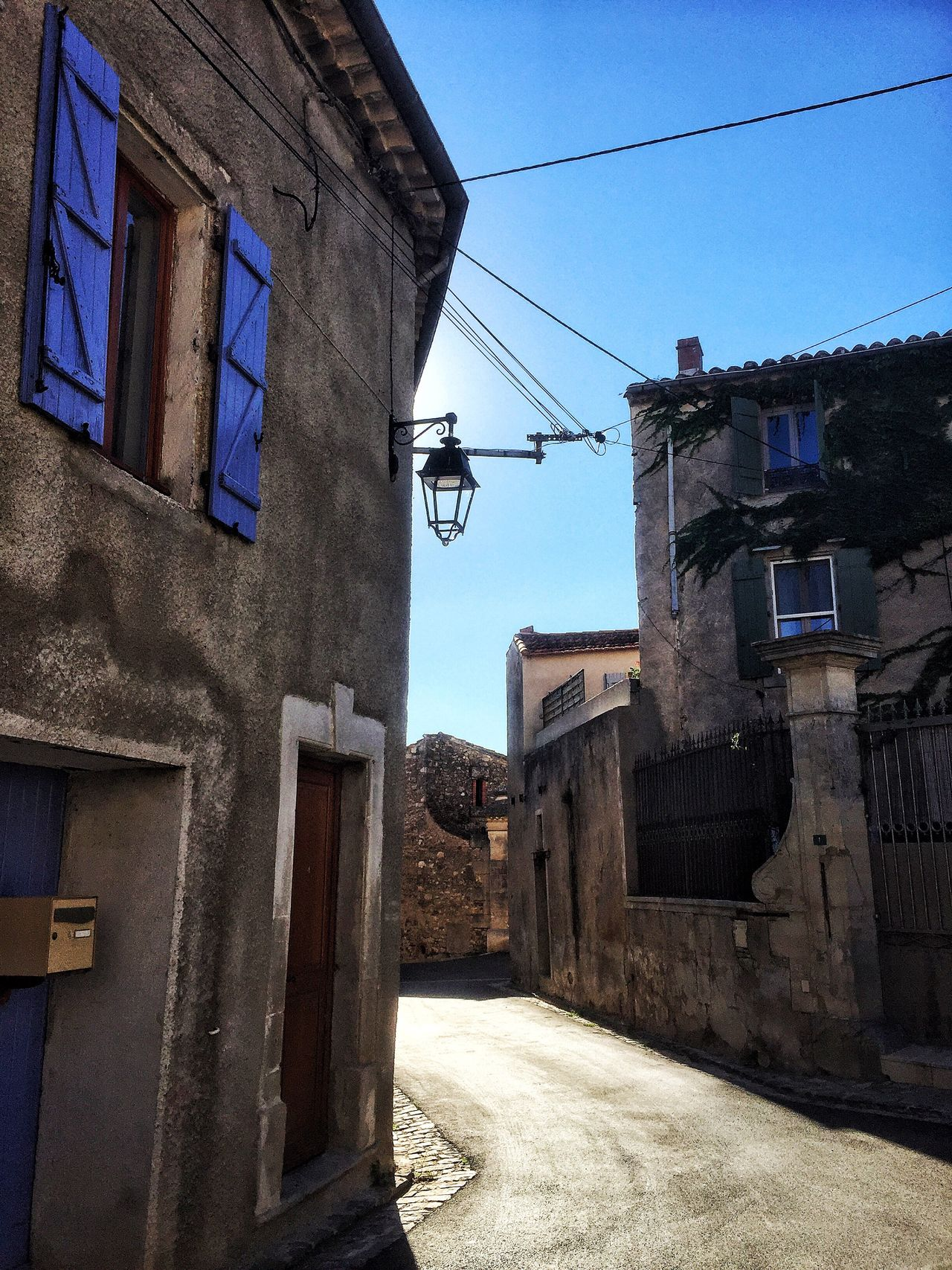 Hérault Autignac Building Exterior Built Structure Architecture Window House Cable Day Residential Building No People Outdoors Electricity  Clear Sky Sky Light