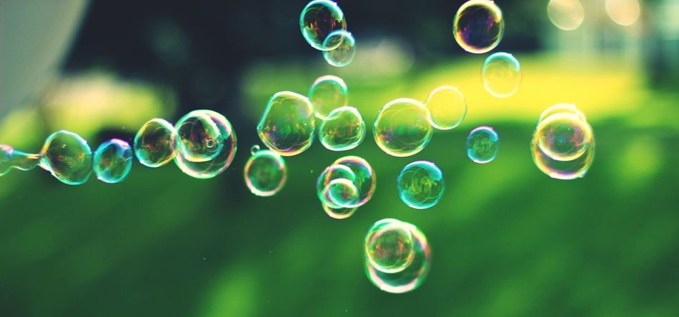 Beautiful stock photos of bubbles, Close-Up, Copy Space, Day, Flying