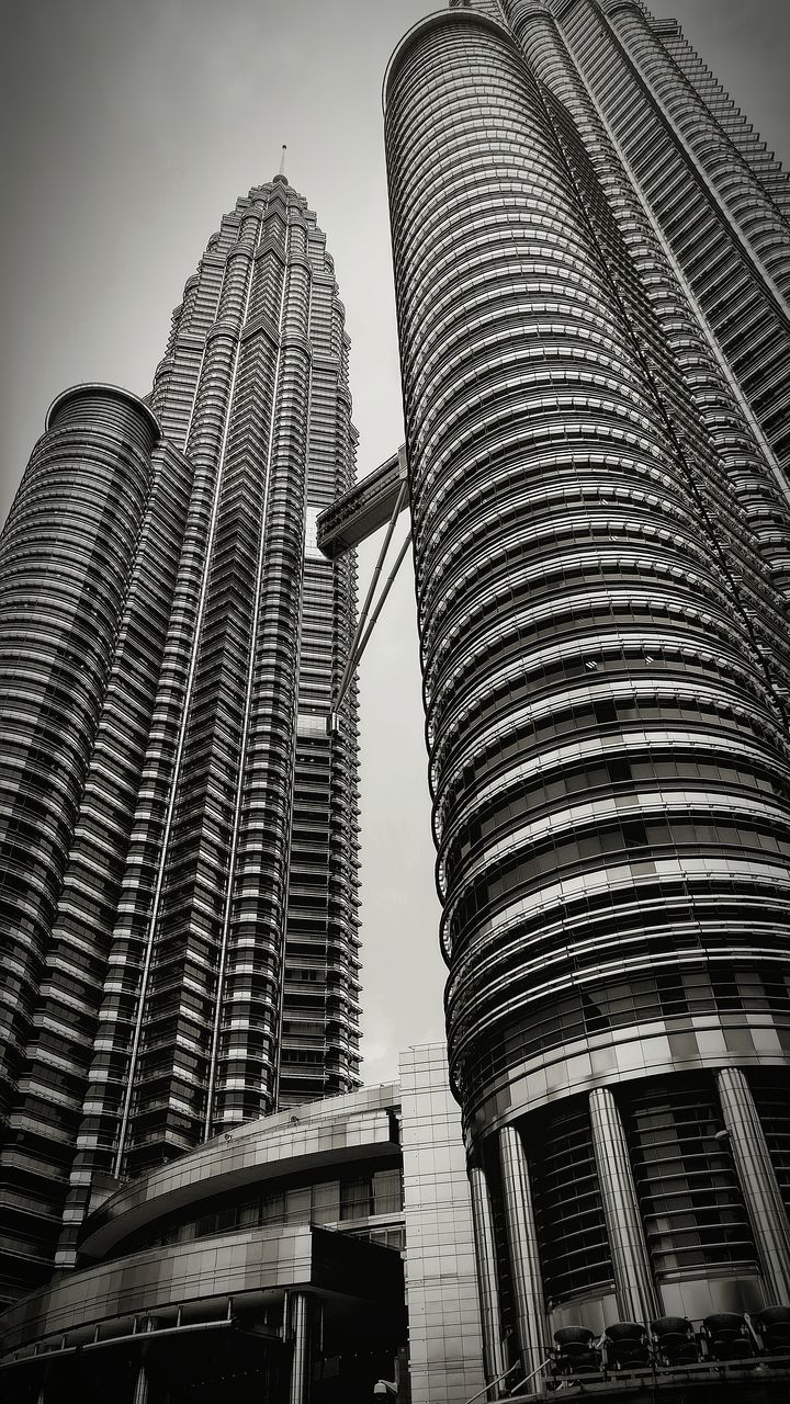 architecture, building exterior, built structure, modern, skyscraper, low angle view, city, travel destinations, development, outdoors, day, no people, sky