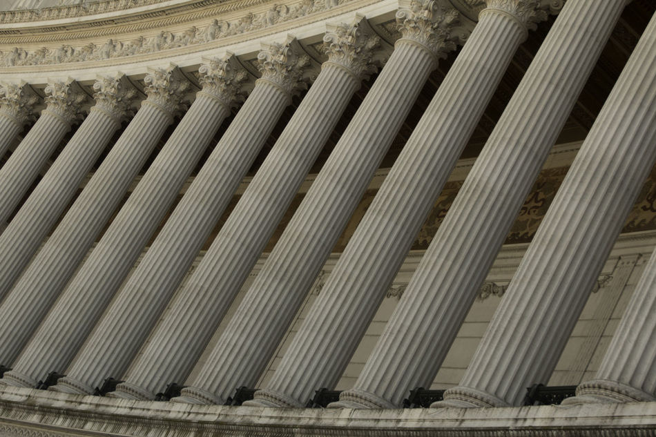 Ancient columns Ancient Architectural Column Architecture Built Structure City Columns Government Pillar Stone Travel Destinations