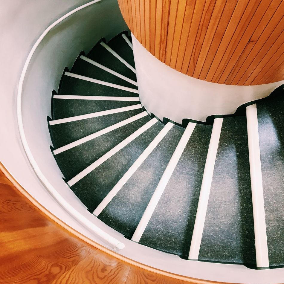 Steps Spiral Indoors  No People Spiral Staircase Staircase Architecture