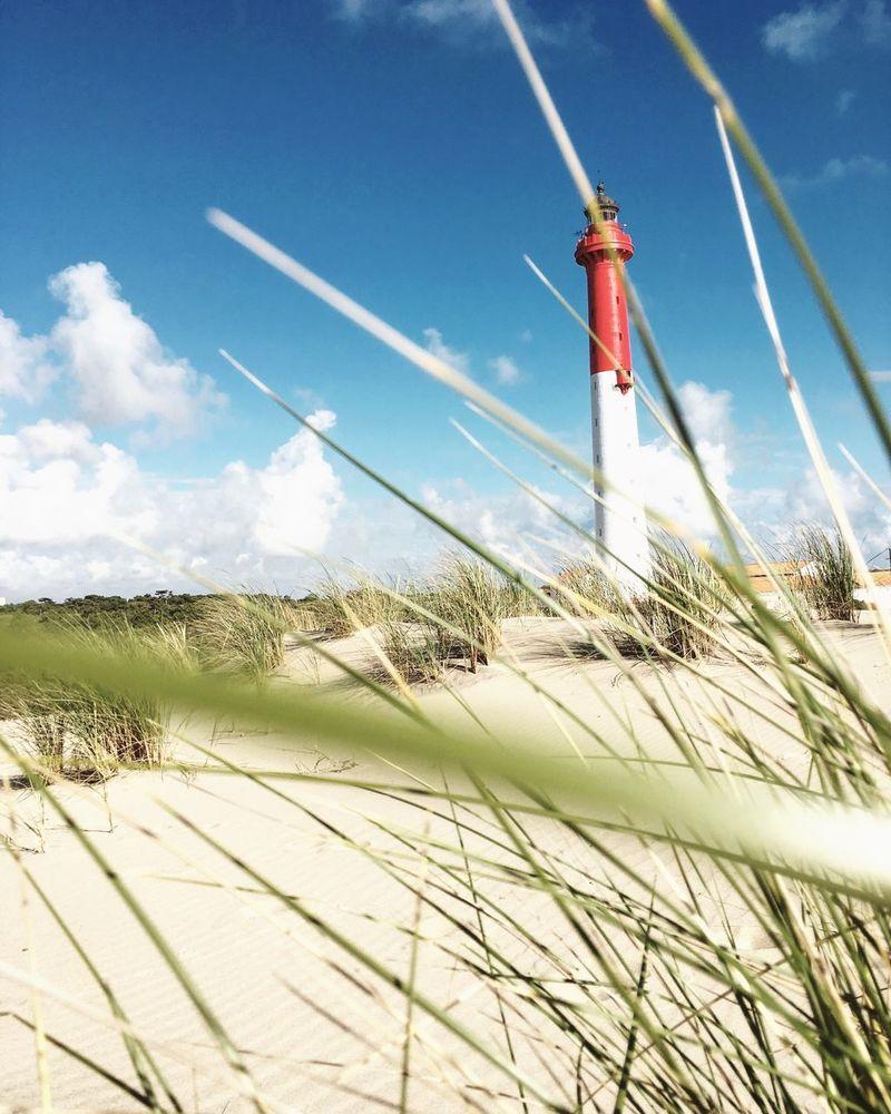 Phare Lighthouse Dune Phare De La Coubre