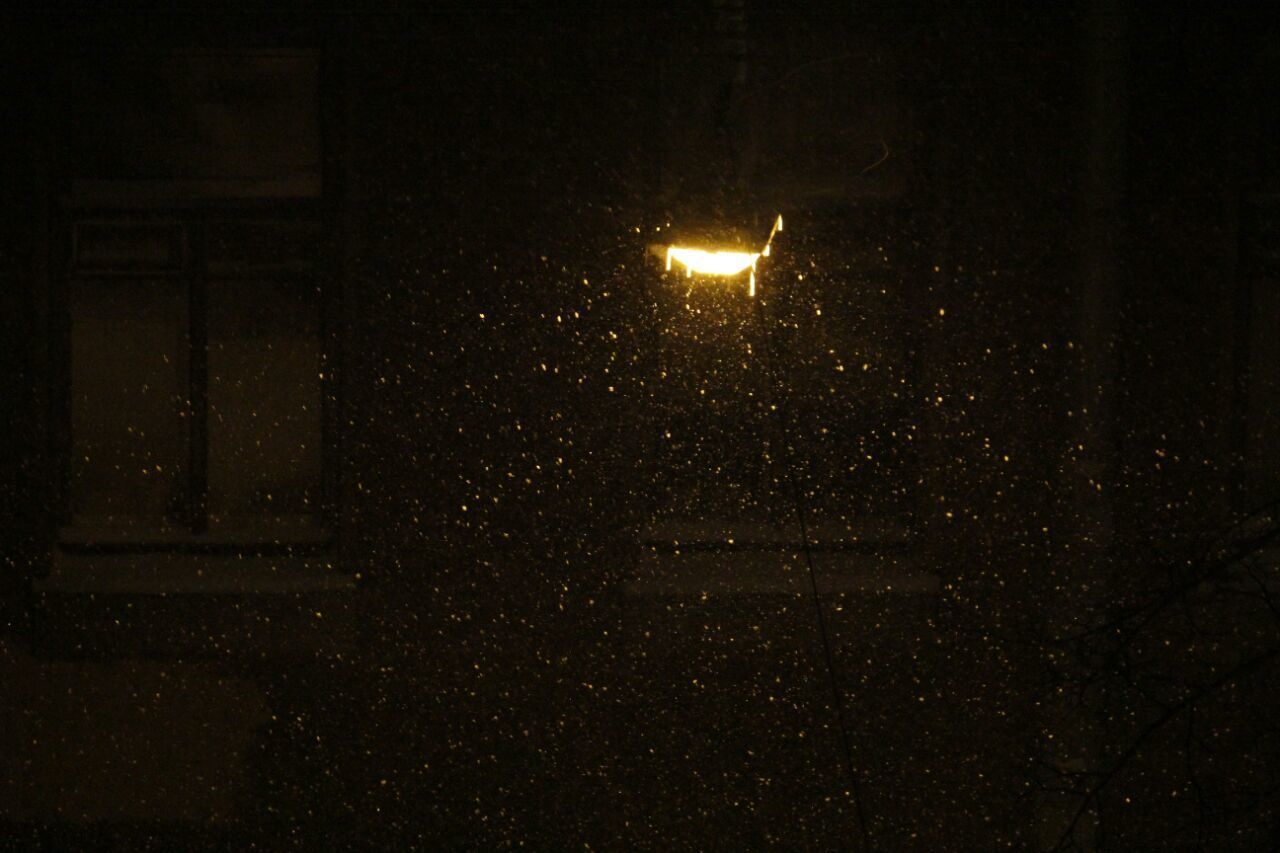 night, illuminated, lighting equipment, no people, dark, outdoors, street light, nature, sky