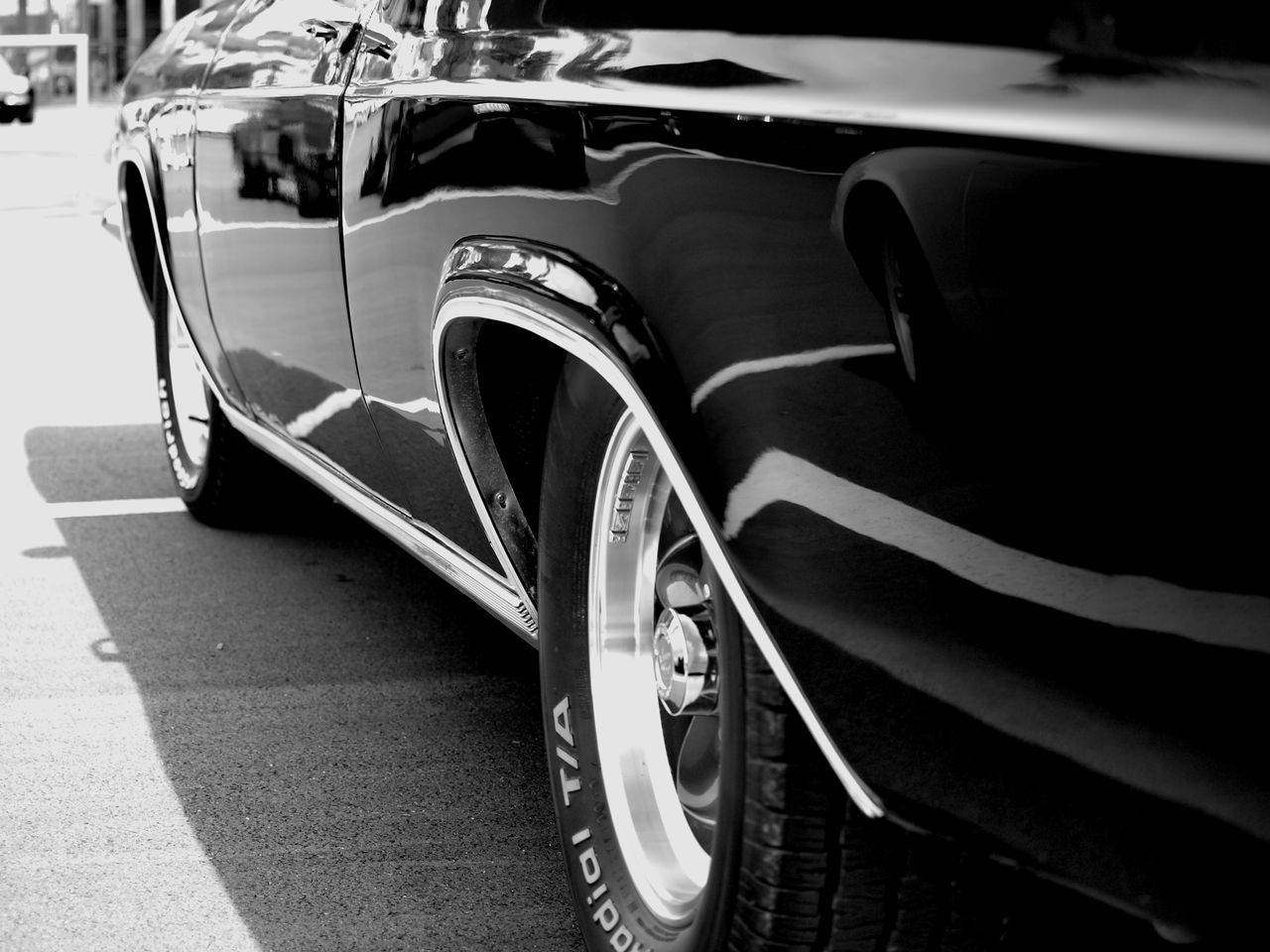 transportation, car, land vehicle, mode of transport, day, no people, outdoors, road, close-up, stationary, tire