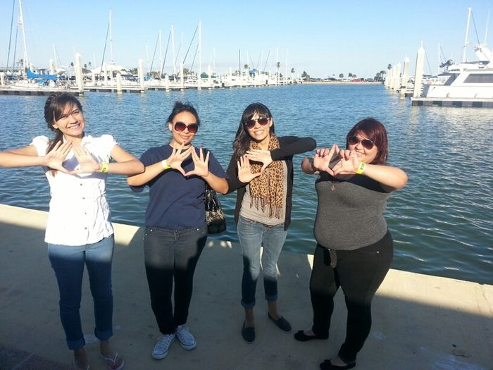 #LatePost With The Girls At Corpus