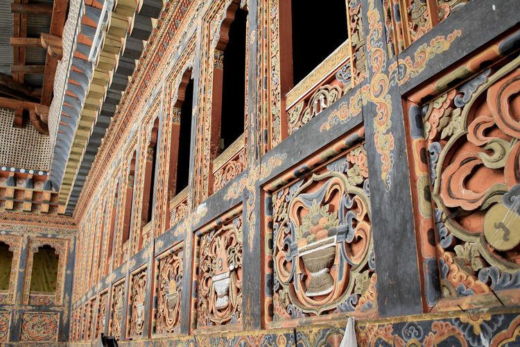 Travelling Traveling Travel Photography Travel Monastery Bhutan Bhutanese Fine Art Carving Colors Monastic