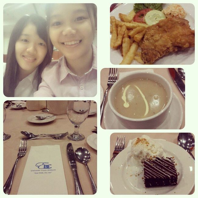 Throwback Protocol Night Dinner chickenchop