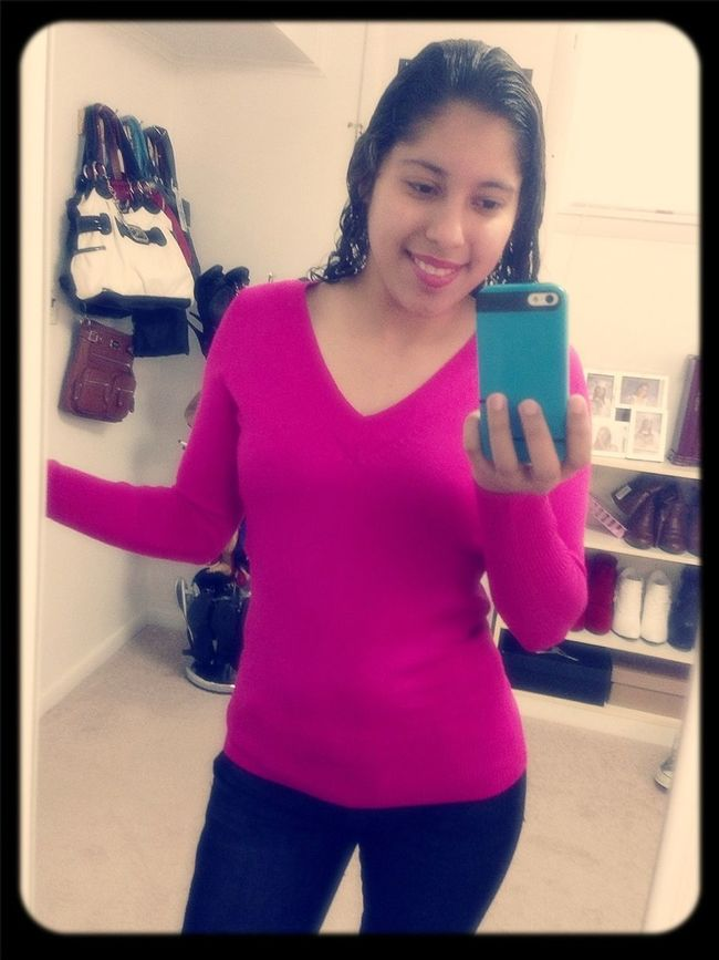Wearing Pink Today