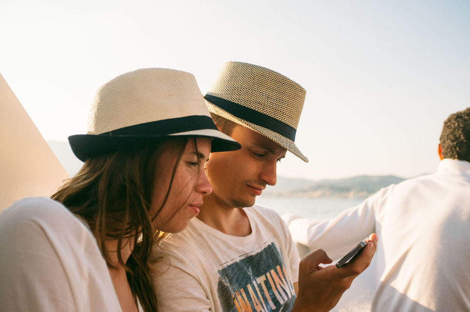 Beautiful stock photos of hat, Accessibility, Beach, Boyfriend, Casual Clothing