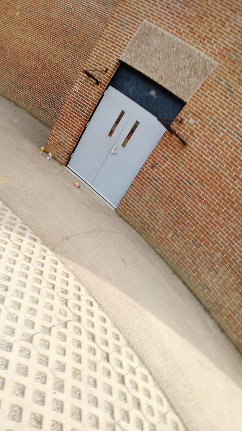 Urban Brick Door School Cement