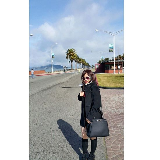 Veron Fendy Peekaboo GUCCI in Treasure Island SanFransisco California America travel Travelmaniac Traveler Photography 2015.03.24
