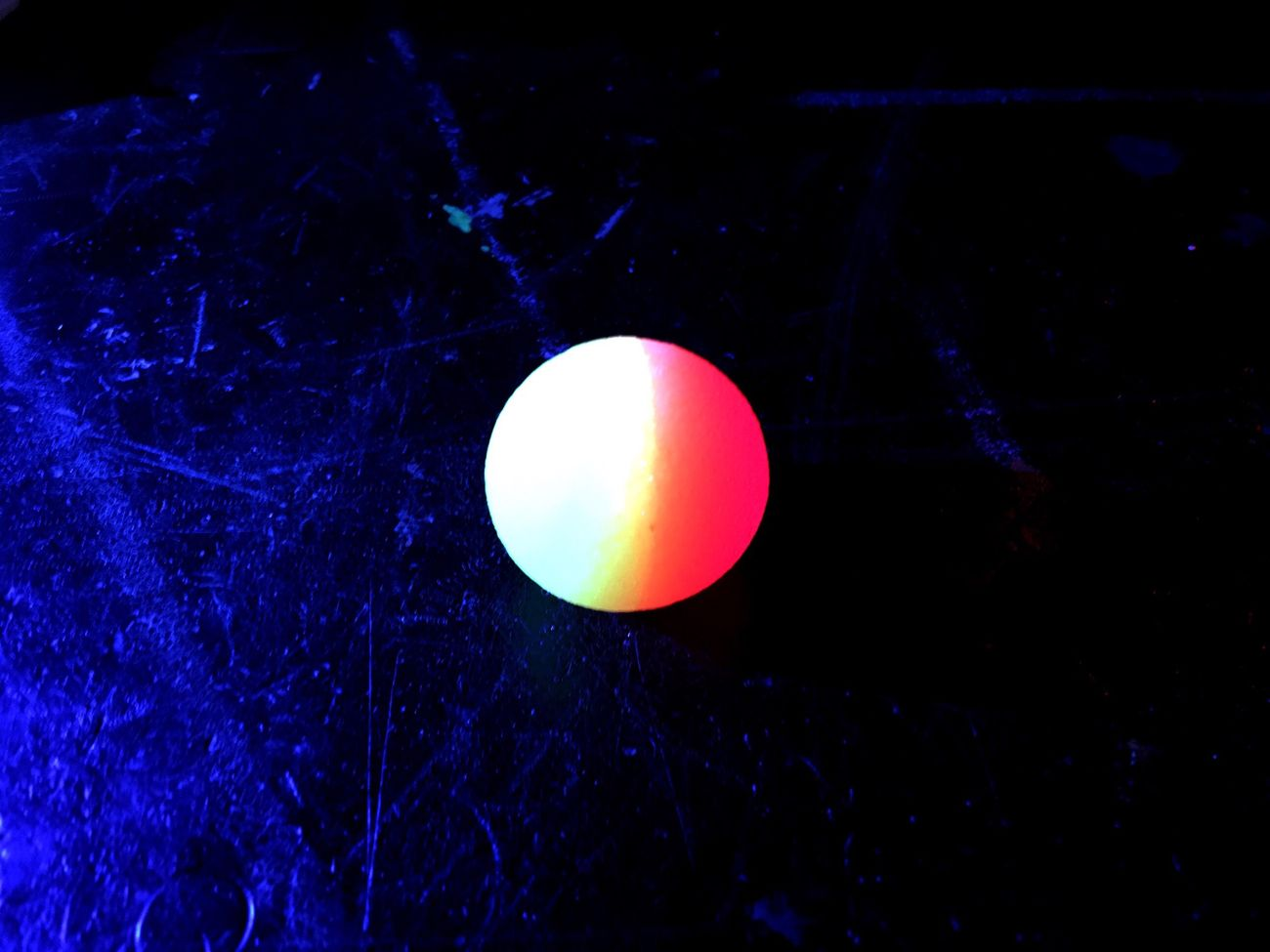 Pattern Pieces Bouncing Ball Light Fluo  Colors Ball Balloon Colorful Fluorescent Blue Light Bright