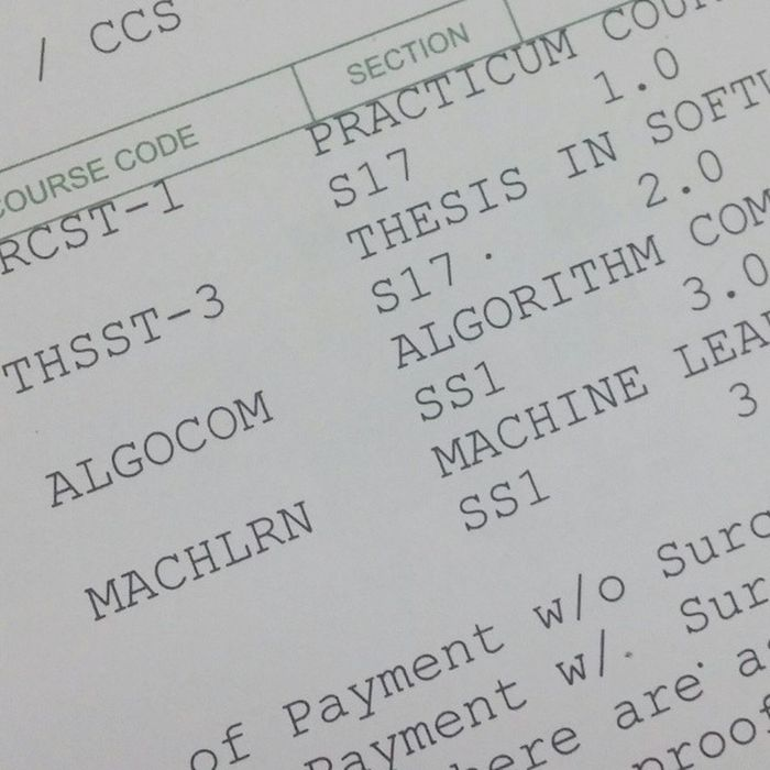 I like how they name those special class sections. Lastpush