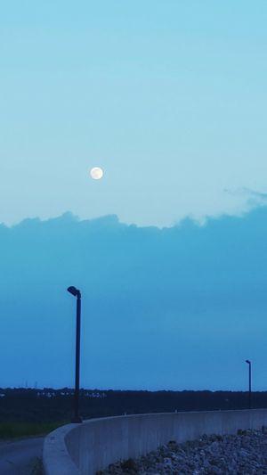 Walk in the Evening Taking Photos Enjoying Life Sky_collection Nature Walking Around Moonlight Full Moon
