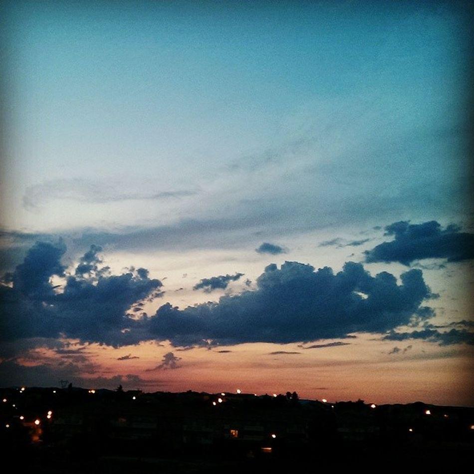J'aime l'été juste pour ces beaux ciels ☁? Sky Beautifulsky Cloud Summer holidays justlove France CanetenRoussillon