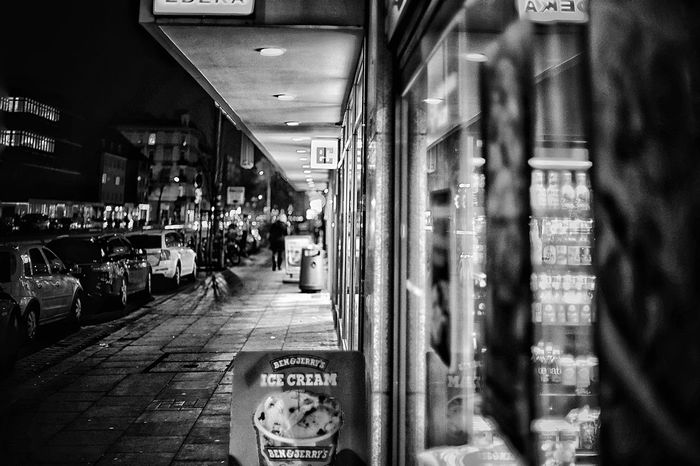 Shopping Street at Night Bnw_captures EyeEm Selects Text Communication Real People Store Indoors  Large Group Of People City People