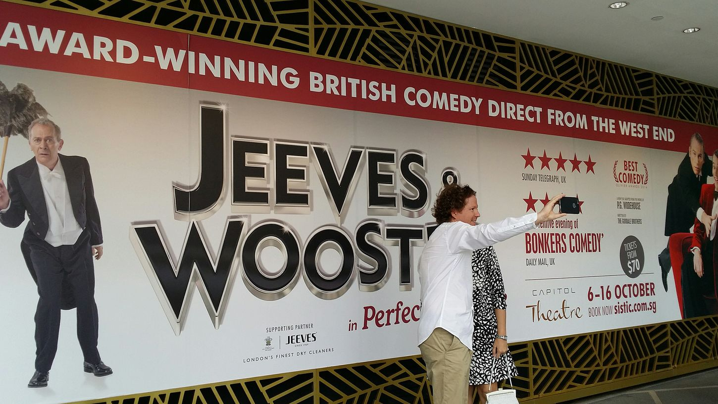 Jeeves & Wooster PG Wodehouse British Play Stage Performance Capitol Theatre Capitol Piazza 6-16 October 2016 Singapore