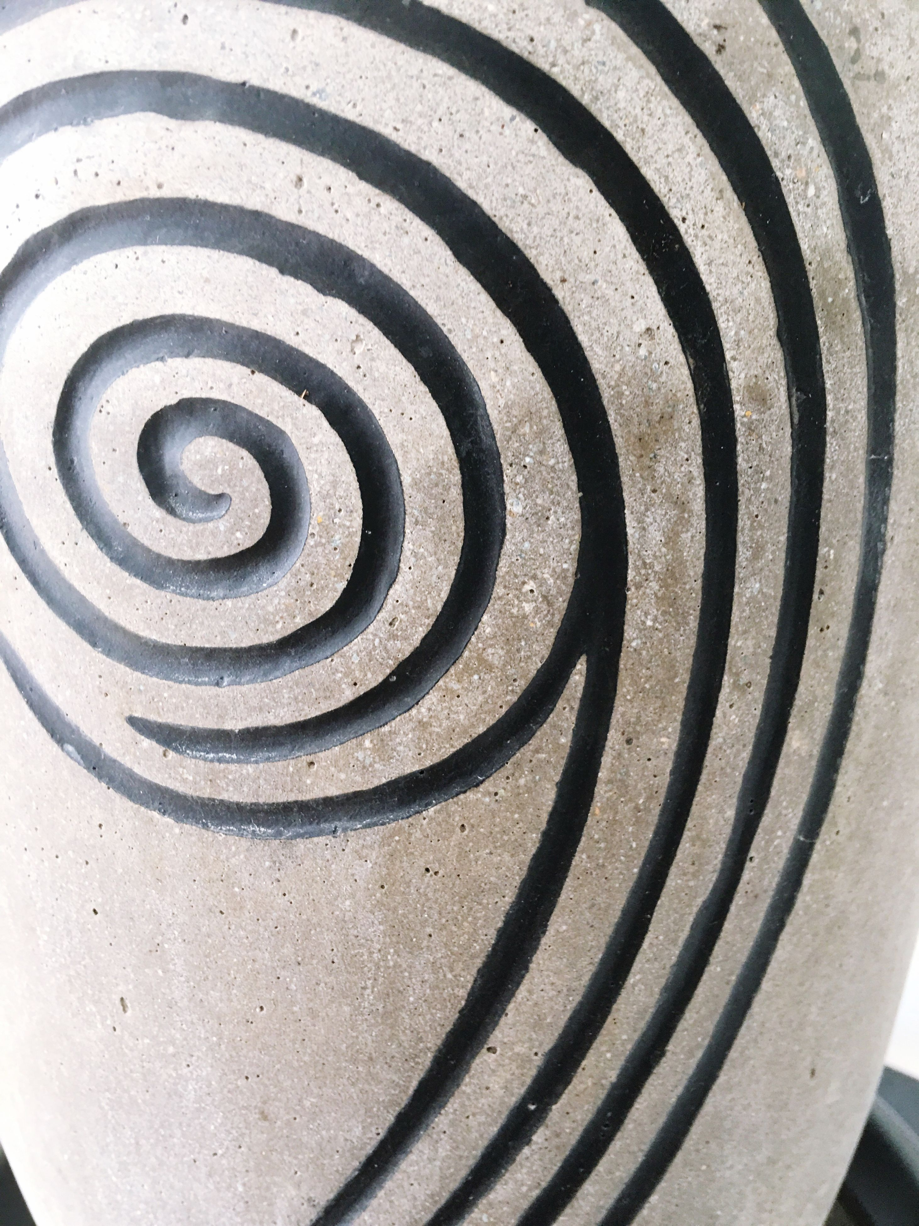 concentric, spiral, pattern, abstract, architecture, backgrounds, close-up, no people, indoors, day