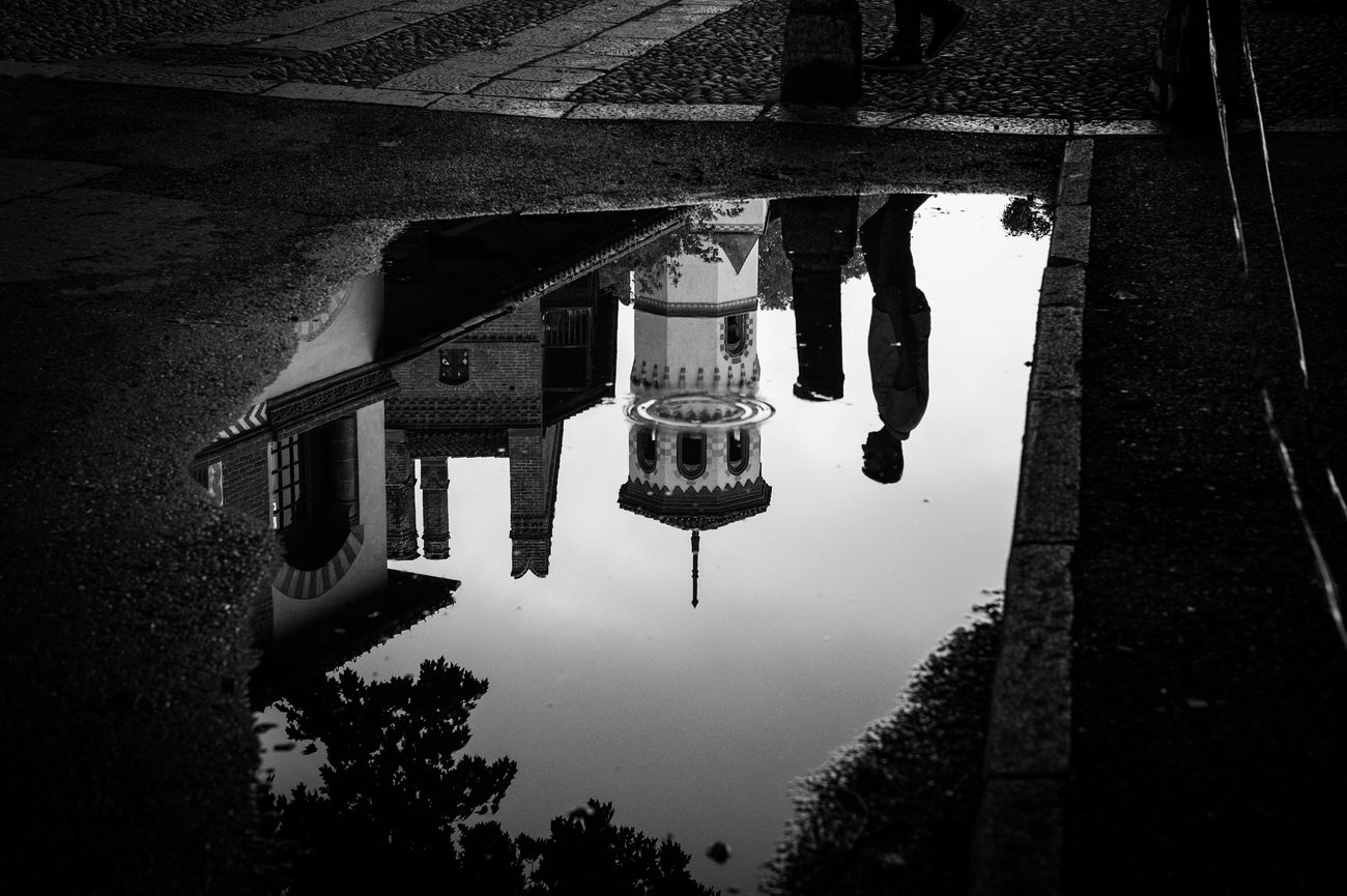 Torino Streetphoto_bw Architecture Reflection Built Structure Street Water Puddle Travel Destinations Outdoors Sky Street Photography Streetphotography Bw_collection Black And White Blackandwhite Eye4photography  EyeEm Gallery Getting Inspired Canon Withyou Mllml Sognidacucire Love EyeEm Best Shots