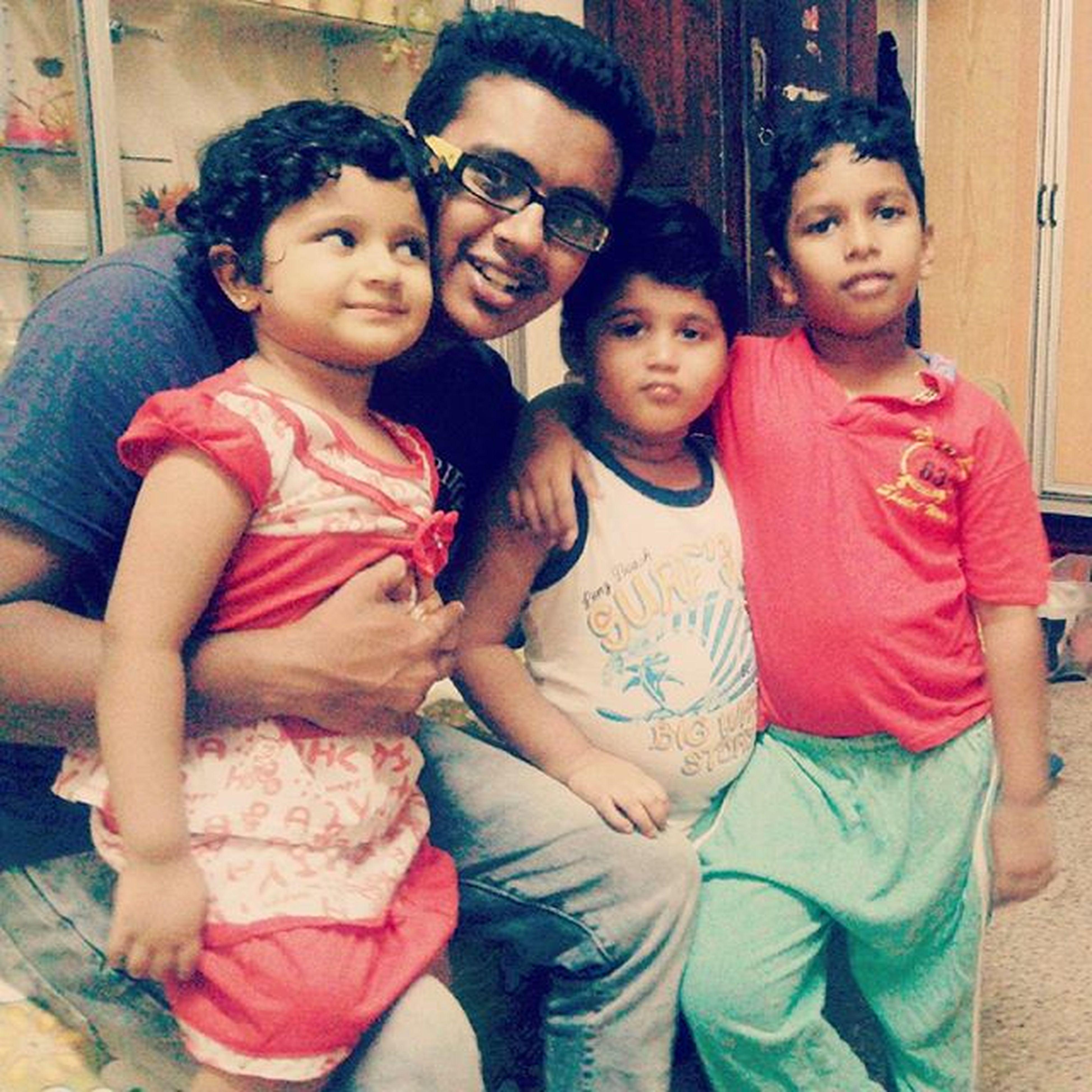 My Cuties Izzu Dedhu Shahazu loveu loveyou