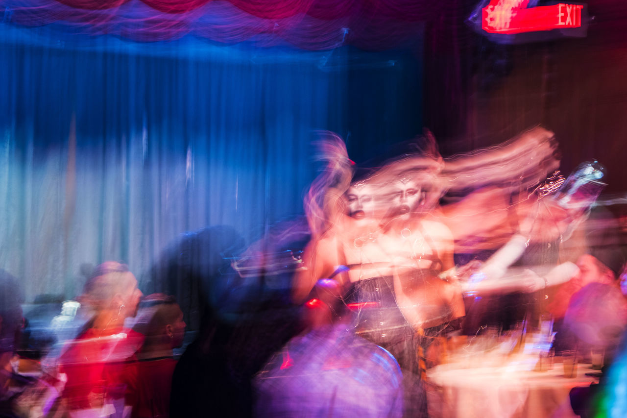 Arts Culture And Entertainment Motion Multi Colored Blurred Motion Stage Light Stage - Performance Space Music Indoors  Performance Abstract Digital Photography Nikon California Photography Art Drag Queen Lgbt Gender Night Men Abstract Photography Riverside