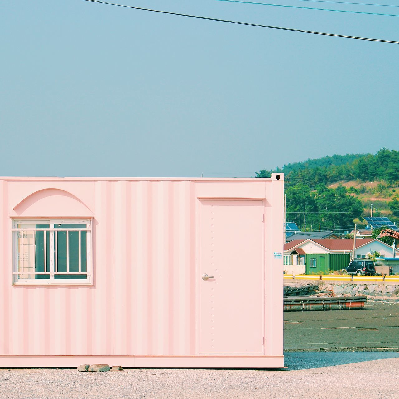 Traveling Sooncheon Korea Travel Photography Container Pink