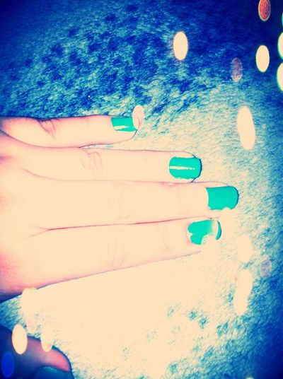 Just Did My Nails ^.^