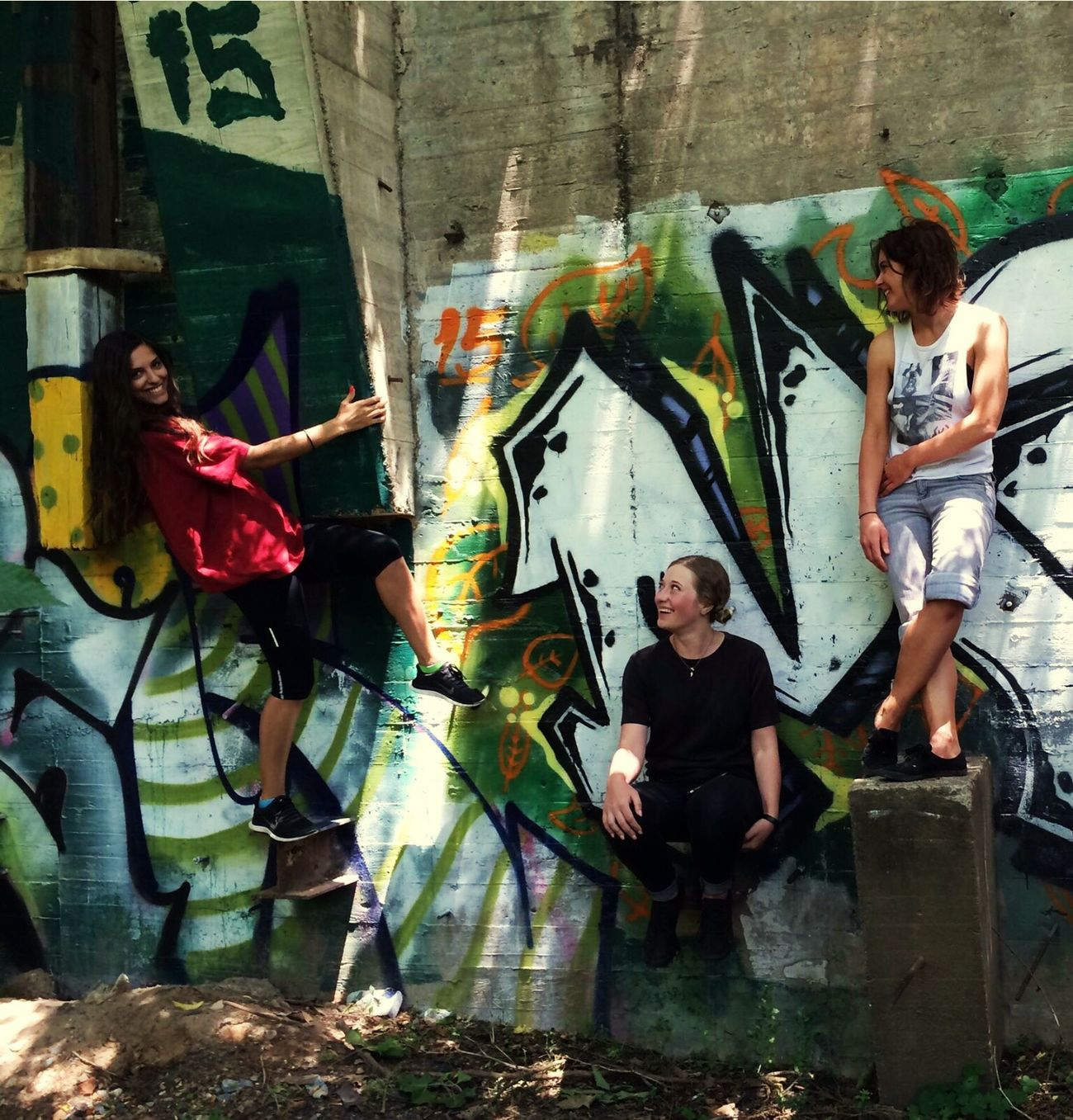 It never rains... SoCal Southern California California Love Graffiti Street Street Art/Graffiti Friendship Creativity Friends Real People Urban Landscape Urban Exploration Happy People NEM Street AMPt - Street Gangsters Paradise Hangout